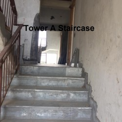 Tower A staircase